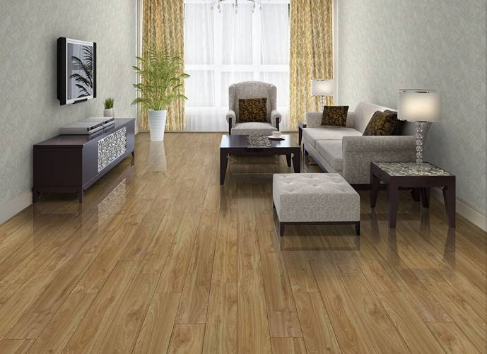 圣象地板 強化復合地板 尚苑果木 pk7116f