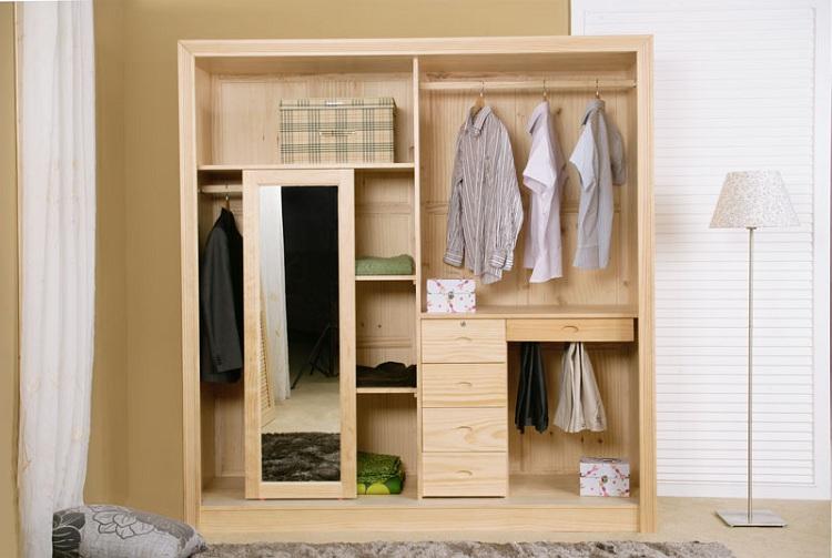 儿童衣柜内部结构设计图展示图片